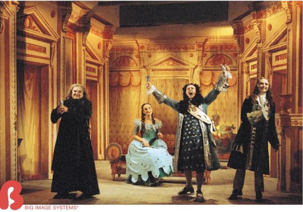 old opera drops