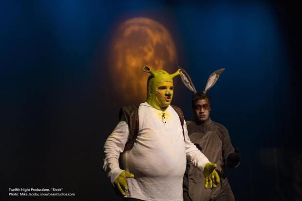 Shrek pic with Moon GOBO